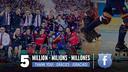 5 millones de seguidores en Facebook. FOTO: FCB