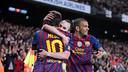 Barça scored 73 goals at Camp Nou in the 2011/12 La Liga season. / MIGUEL RUIZ - FCB