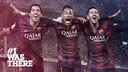 Suarez, Neymar et Messi /FCB