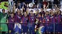 Le FC Barcelone, lors de la victoire en finale / MIGUEL RUIZ-FCB