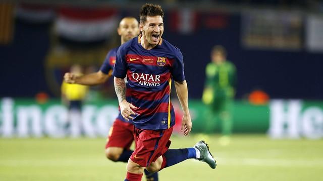 Leo Messi, Meilleur Joueur UEFA de l'année