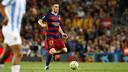 Thomas Vermaelen, buteur contre Malaga avec le Barça / MIGUEL RUIZ-FCB