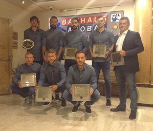 Els guardonats del Barça Lassa a la Gala / FOTO:FCB