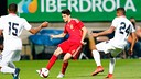 Marc Bartra in action for Spain / SEFUTBOL.ES