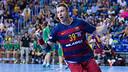 Jicha make his debut for Barça Lassa / GERMÁN PARGA-FCB