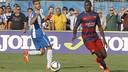 Godswill during the derby against Espanyol / MIGUEL RUIZ-FCB