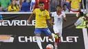 Rafinha finally makes his debut for Brazil / RAFAEL RIBEIRO-CBF