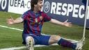 Messi, 100 partits UCL