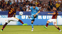 Lionel Messi made his 100th Champions League appearance on Wednesday night. / MIGUEL RUIZ-FCB