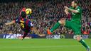Luis Suárez's overhead kick / MIGUEL RUIZ-FCB