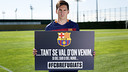 Leo Messi is one of the players supporting 'Tant se val d'on venim' / FCB