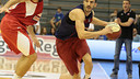 Pau Ribas made his debut for Barça Lassa / FCBQ