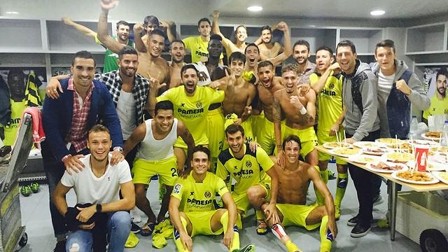 Villarreal are top of La Liga for the first time ever / www.villarrealcf.es