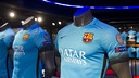 FC Barcelona's third kit at the FCB Megastore / VÍCTOR SALGADO - FCB