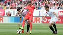 Neymar against Sevilla / MIGUEL RUIZ - FCB
