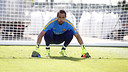 Bravo in training this week / MIGUEL RUIZ - FCB