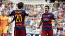 Sergi Roberto and Luis Suárez are two of Barça in form players / MIGUEL RUIZ - FCB