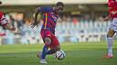 Dongou, en el partido ante el Hércules / VICTOR SALGADO-FCB
