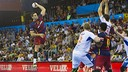 Kiril Lazarov scored 12 goals against Montpellier on Saturday night. / VICTOR SALGADO - FCB