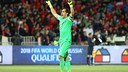 Bravo will be looking to repeat his clean sheet against Brazil / ANFP Chile