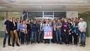 Poster presentation of the XV Anniversary of the Penya Fanatiek FC Barcelona Liemburg