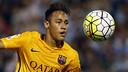 Neymar, sur la pelouse du Celta / MIGUEL RUIZ-FCB