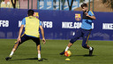 Gerard Piqué, à l'entraînement / MIGUEL RUIZ-FCB