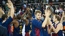 Barça is only the second team to reach 250 Euroleague wins / VICTOR SALGADO - FCB