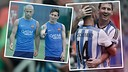 Messi and Mascherano came together for the first time with the Argentina national team. / FCB PHOTOMONTAGE