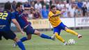 Maxi Rolón buscará su tercer gol de esta temporada para sumar los tres puntos / ARCHIVO FCB