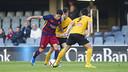Aitor in action / VICTOR SALGADO - FCB