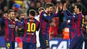 Messi, Piqué et Jordi Alba sont trois des buteurs / MIGUEL RUIZ - FCB