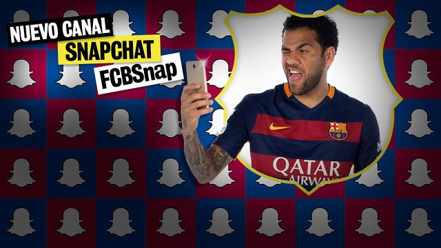 El FC Barcelona desembarca en Snapchat