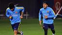 Dani Alves et Neymar Jr ont rejoint le groupe aujourd'hui / MIGUEL RUIZ - FCB