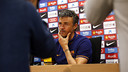 Luis Enrique in a press conference recently / MIGUEL RUIZ - FCB