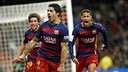 Suárez, Roberto i Neymar / MIGUEL RUIZ - FCB