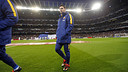 Leo Messi made his return at the Santiago Bernabéu after injury / MIGUEL RUIZ - FCB