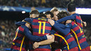 Barça put in another exhibition of football on their way to the last 16 / VÍCTOR SALGADO - FCB