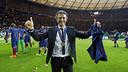 Luis Enrique after the final of the Champions League in Berlin  / MIGUEL RUIZ - FCB