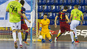 Barça Lassa's keepers are on top form / Foto: VÍCTOR SALGADO