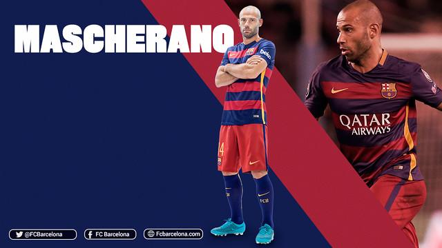 Javier Mascherano, 250 matchs avec le Barça / FCB