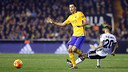 Sergio Busquets a apprécié la performance de son équipe à Mestalla/ MIGUEL RUIZ - FCB