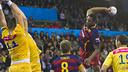 Jallouz on top form / FOTO:VÍCTOR SALGADO - ARXIU FCB