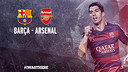Arsenal to face Barça on Champions League last 16
