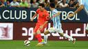 Leo Messi in action last season at La Rosaleda / MIGUEL RUIZ - FCB
