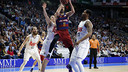 Juan Carlos Navarro came up big against Real Madrid on Sunday night. / ACB MEDIA