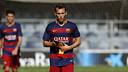 Alejandro Grimaldo was captain of Gerard López's side / MIGUEL RUIZ - FCB