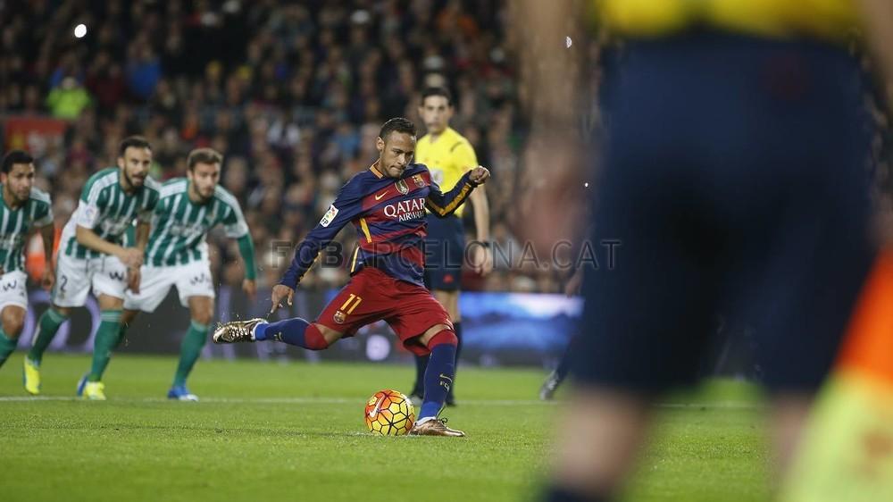 گزارش تصویری اختصاصی: نیمار مقابل رئال بتیس