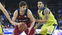 Ante Tomic, with 16 points, was one of Barça's best performers / VICTOR SALGADO - FCB