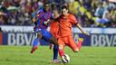 Leo Messi in action last season at the Ciutat de València / MIGUEL RUIZ - FCB